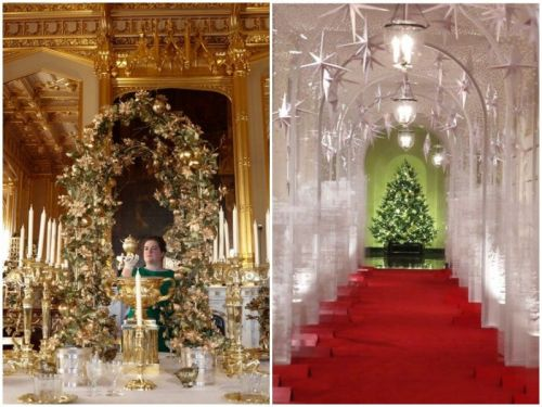 30 photos that show how the White House and the royal family decorate for the holidays