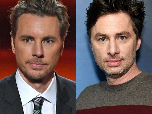 A face swap of Dax Shepard and Zach Braff prove that they're practically identical - and their fans are freaking out