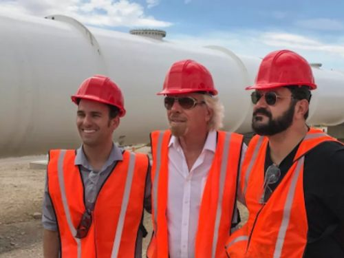 Virgin Group just invested in Hyperloop One - and Richard Branson now sits on the board