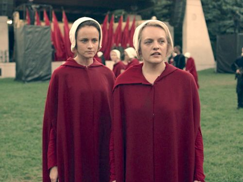 'The Handmaid's Tale' was seen filming in Washington, DC, and people thought it was another protest