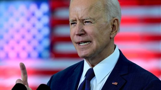 For Biden, China Rivalry Adds Urgency To Infrastructure Push
