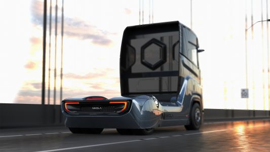 Nikola Motor unveils a new hydrogen truck prototype designed for Europe
