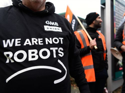 'We are not robots': Thousands of Amazon workers across Europe are striking on Black Friday over poor warehouse working conditions