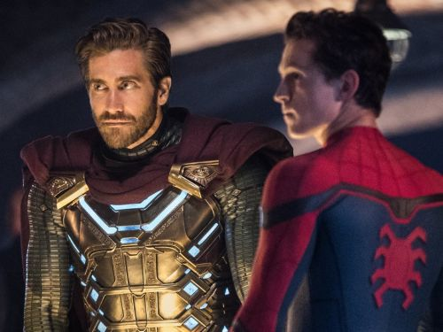 Watch Tom Holland and Jake Gyllenhaal hilariously fail to stay in character while filming 'Spider-Man: Far From Home'