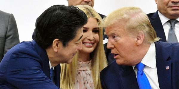 People are editing Ivanka Trump into historic scenes with ' UnwantedIvanka' after her awkward G20 conversation with world leaders