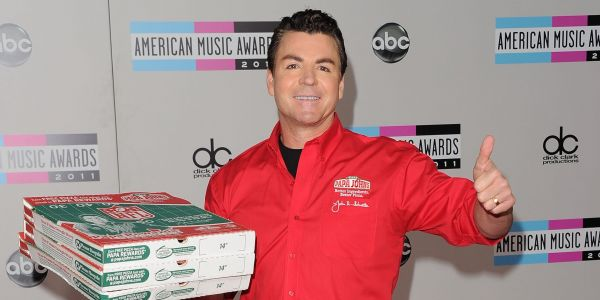 Papa John's is surging after founder John Schnatter resigns from board and apologizes for using a racial slur