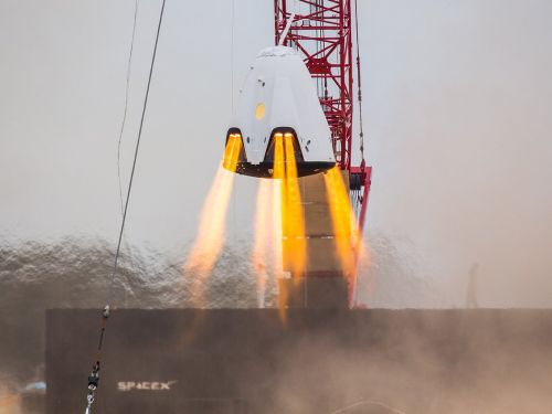 SpaceX confirmed that its Crew Dragon spaceship for NASA was 'destroyed' by a recent test. Here's what we learned about the explosive failure
