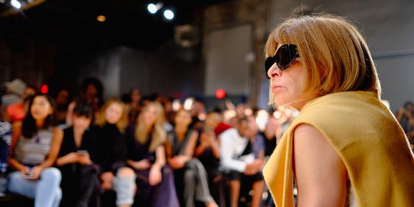 From front-row seats at New York Fashion Week to planning the Met Gala, see the fabulous life of Anna Wintour and how she got there
