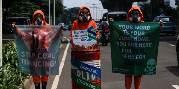 Big banks are propping up the coal industry as it keeps on pumping out toxic emissions in some parts of the world