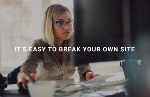 Break Your Own Site Much Lately?