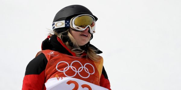 The Olympic halfpipe skier who couldn't do any tricks worked 18-20 hours a day doing random jobs to pay for her journey to the games