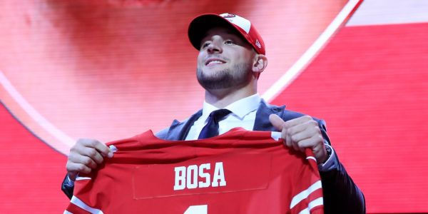 Nick Bosa's social-media posts and support for Trump have drawn scrutiny in the buildup to the NFL draft