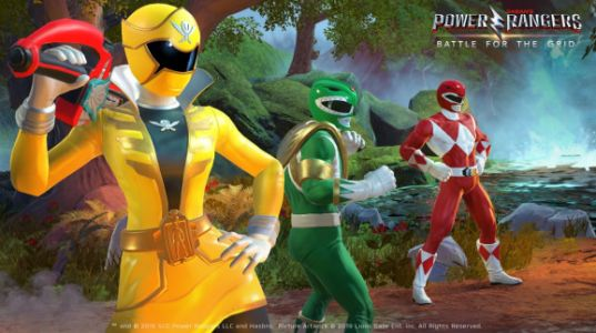 Power Rangers: Battle for the Grid's cross-platform brawls hit PS4, Xbox One, and Switch