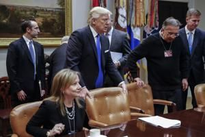 Trump suggests 'big news' for U.S. autoworkers involves NAFTA