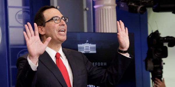 The Treasury released a bizarre one-page report on the GOP tax bill, and it's already getting shredded