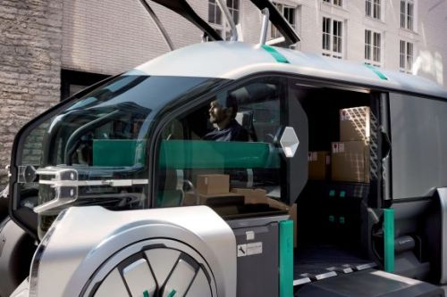 Renault unveils autonomous delivery concept EZ-Pro with customizable robo-pods