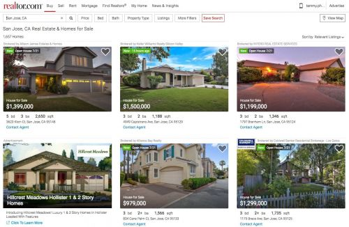Realtor.com Announces Enhanced Home Search