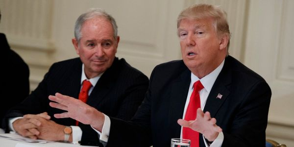 Blackstone CEO Schwarzman reportedly calls recession fears 'overblown.' The firm's chief strategist warns one may hit next year