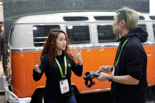 Magic Bus: NVIDIA Holodeck Brings Iconic VW Microbuses of the Past - and Future - to the Floor of CES