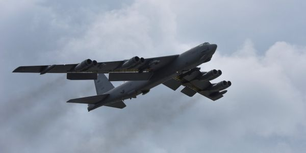The US is walking all over Beijing with regular B-52 bomber flights in the South China Sea