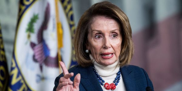 Nancy Pelosi slams Trump's plan to declare a national emergency to fund the border wall, argues that he should declare one on gun violence instead