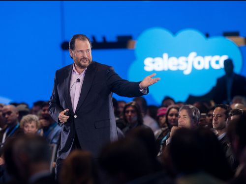 Marc Benioff's strategy to expand beyond Salesforce's roots in sales software is paying off in a big way, latest earnings show