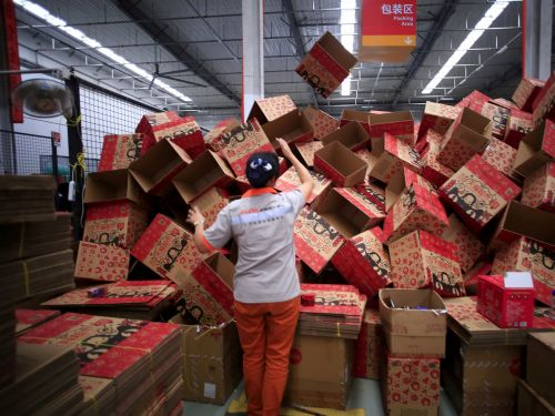 Alibaba beat Amazon's estimated Prime Day sales within an hour and crushed analyst estimates for Black Friday and Cyber Monday combined