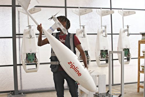 How Delivery Drones Are Saving Lives in Rwanda