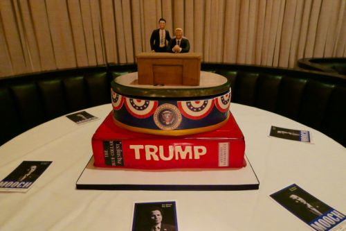 Inside the Book Launch Party for Anthony Scaramucci's 'Trump: The Blue Collar President'