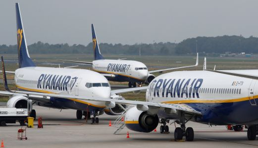 Ryanair passengers were left stranded for hours after their plane was grounded and seized by the French because of unpaid bills