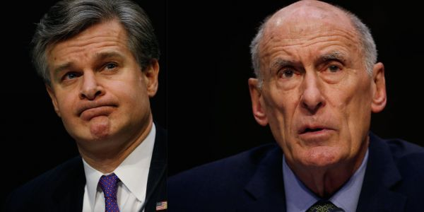 Within 24 hours, 2 of Trump's top intelligence officials hint that they've considered resigning