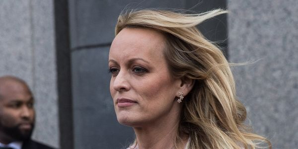 Stormy Daniels says she bumped into Michael Cohen at an airport and he said hi
