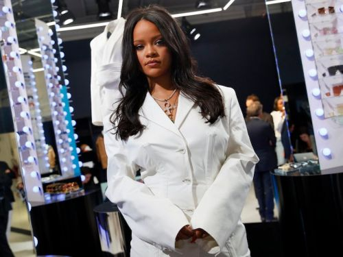 Rihanna is launching her new luxury fashion brand Fenty with a pop-up in Paris - take a peek inside
