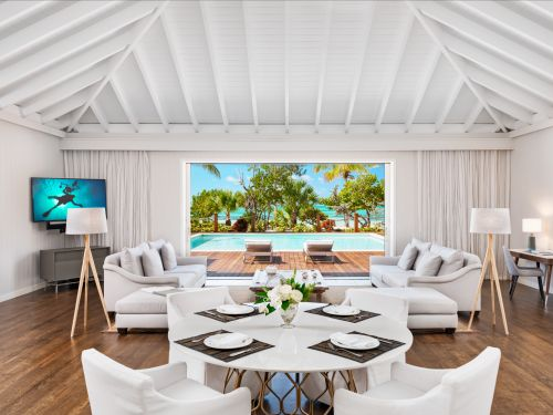 Bruce Willis is selling his 11-bedroom Turks and Caicos compound for $33 million - and it could shatter the area's real-estate record. Here's a look inside