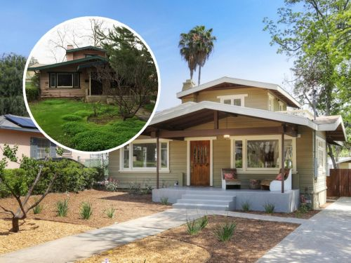 A real-estate broker quit his job to flip houses for a living and has made millions - see the before and after photos