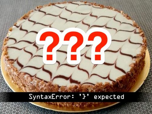 A photo of a cake with optical illusion frosting is dividing the internet - but some people are fed up with the debate