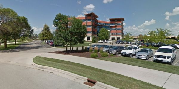 Police respond to reports of active shooter at an office building in Middleton, Wisconsin