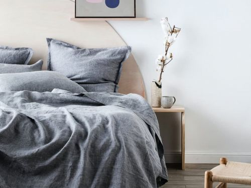 These linen sheets are undoubtedly expensive, but their superior comfort and breathability won me over