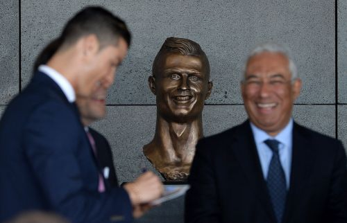 The famously bad bust of Cristiano Ronaldo has had a makeover - and some people think it now looks even worse