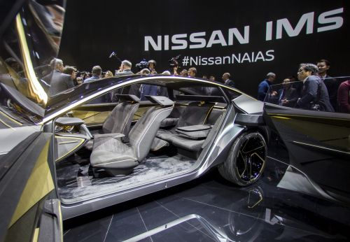 Nissan's IMs 'elevated sports sedan' concept shows what its electric future might look like
