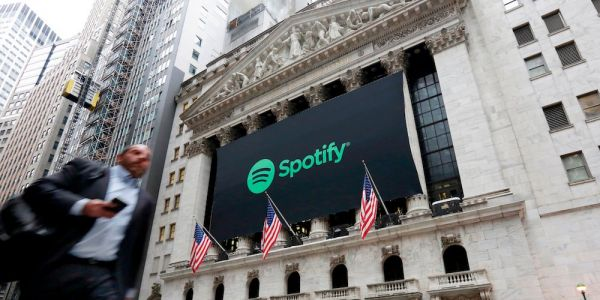 Here comes Spotify