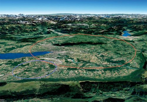 CERN's plan for 100-km collider makes the LHC look like a hula hoop