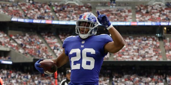 Saquon Barkley remains quiet amid New York Giants' media circus