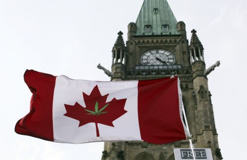Canada just became the second country in the world to legalize marijuana