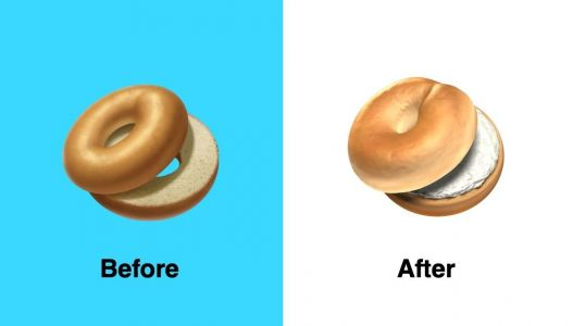 Apple changed its bagel emoji after outraged New Yorkers called the original design a 'monstrosity'