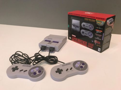 Super NES Classic outsold Switch, PlayStation 4, and Xbox One
