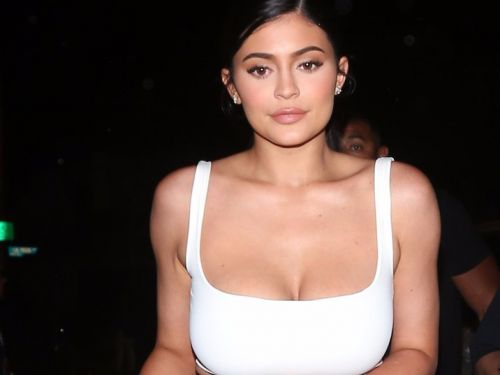 Kylie Jenner wore what appears to be a sports bra with heels - and it was truly a look