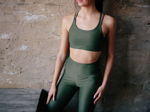 Someone is selling crotchless yoga pants to wear during sex