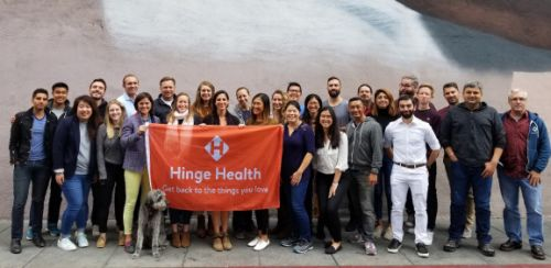 Hinge Health raises $26 million from Insight Venture Partners and Atomico to help employers tackle chronic conditions
