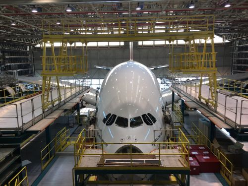 Inside the massive Emirates complex designed to fix the Airbus A380 superjumbo